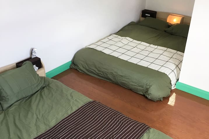 Pet-friendly private apartment with FREE WiFi 1F-H