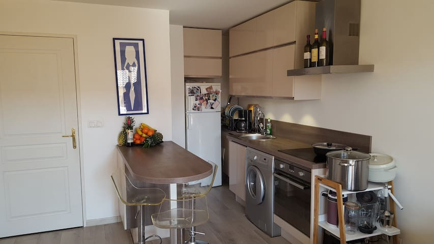 Modern 1 Bedroom Appartment With Parking - Cap-d'Ail