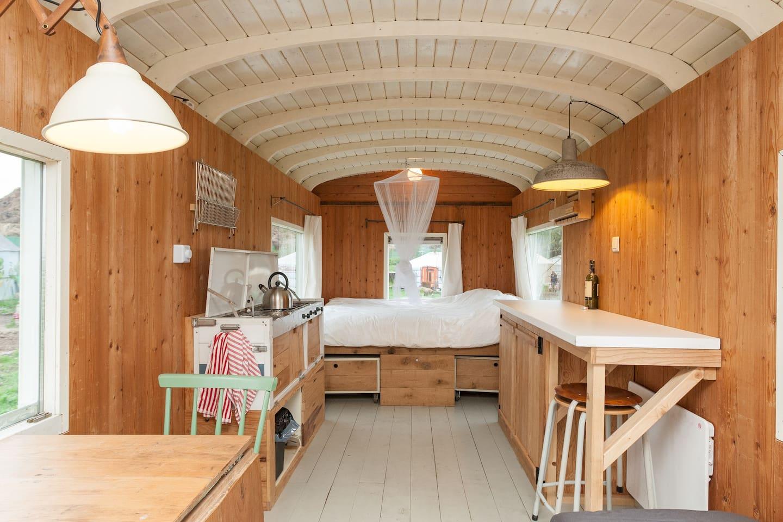 Kleines Haus auf einem Bio-Bauernhof - Kleine Häuser zur Miete in ...