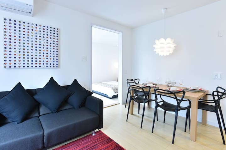 Furano Lofts 'Mori 1' - Non Smoking, 1BR Apartment - Furano-shi