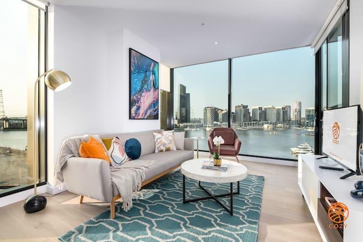 145*Premium Waterfront Suite in Docklands