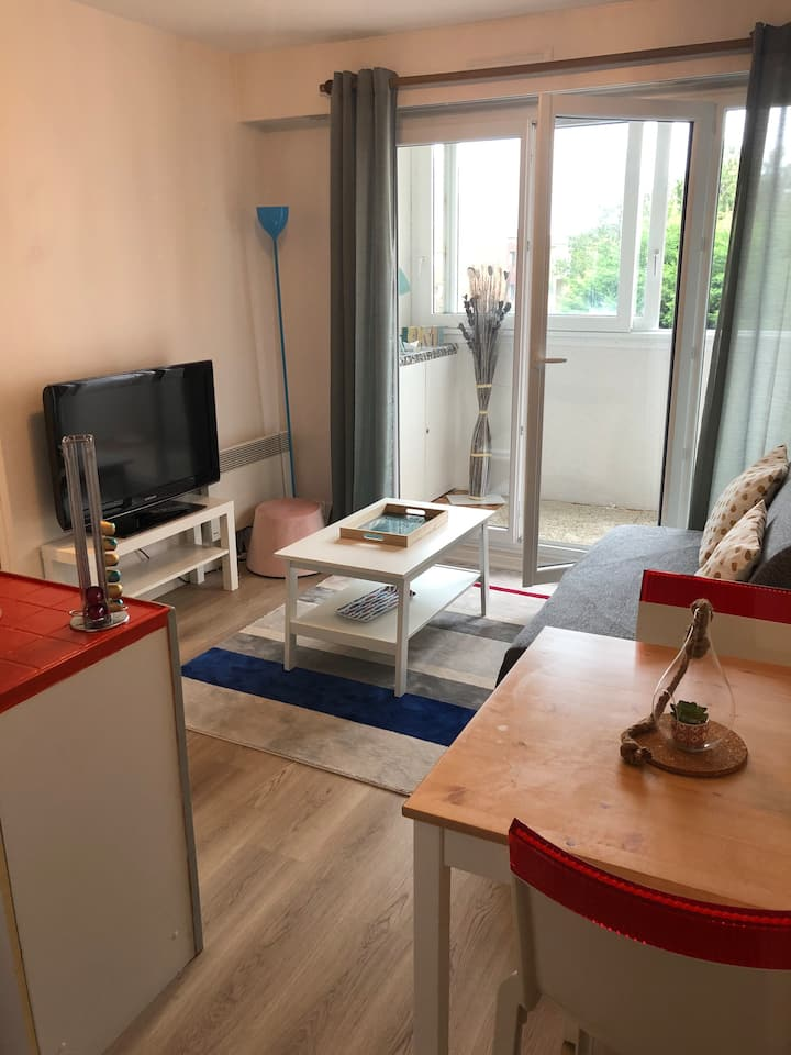 Appartement Cabourg parking et Wifi