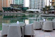 Scenic shisha lounge only 2 minutes walk