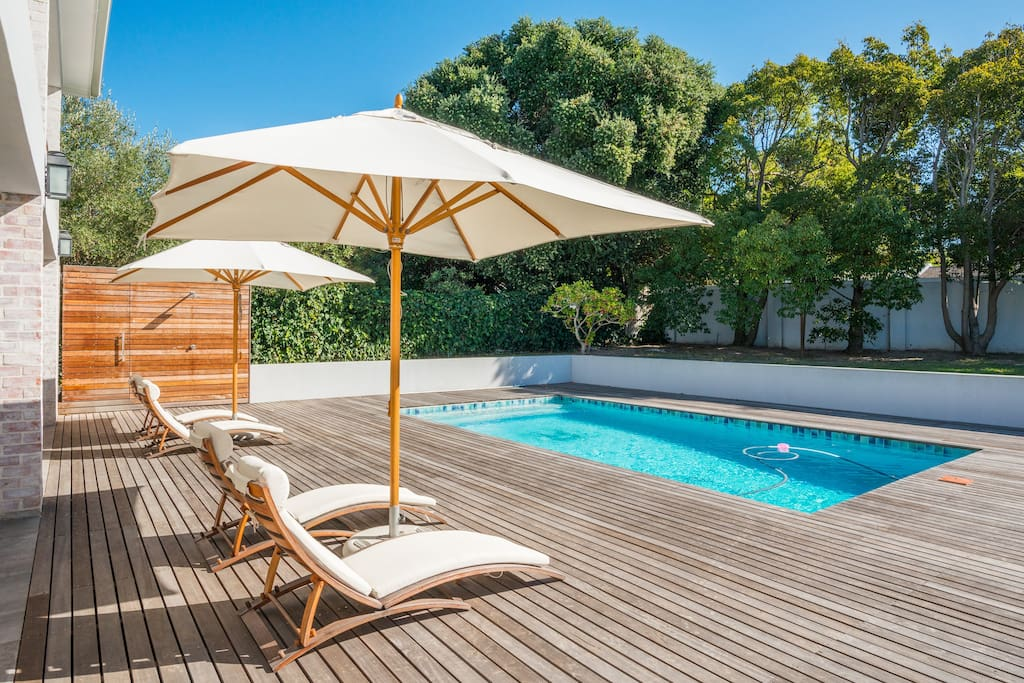 Pool & front garden
