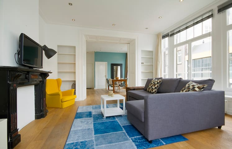 Blue Apartment in the center of Amsterdam