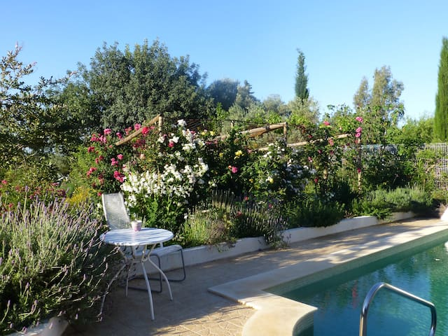 Country-cottage, nice shared pool & garden - Belmonte