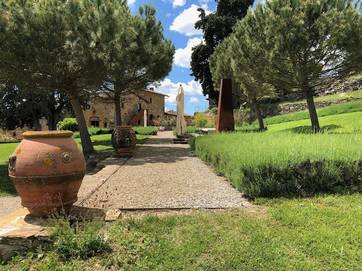 Holiday at the winery Poggio al Sole  - Ginestra