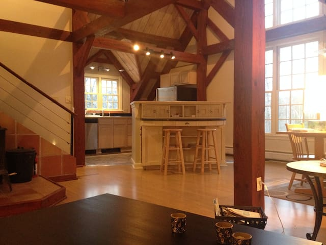 Charming carriage house apartment - Plainfield - Daire