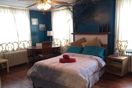 BLUE ROOM in Observatory Hill - Pittsburgh - Rumah