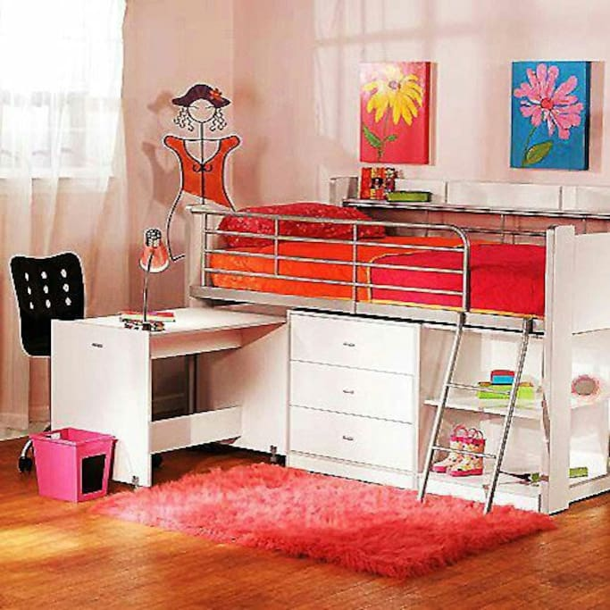 Bedroom bunk bed in two of the room. Perfect for family with children under 15.