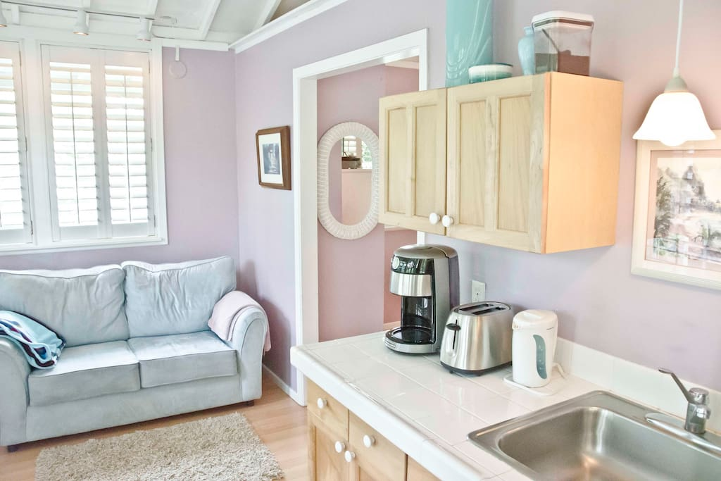 Kitchenette and Sitting Area