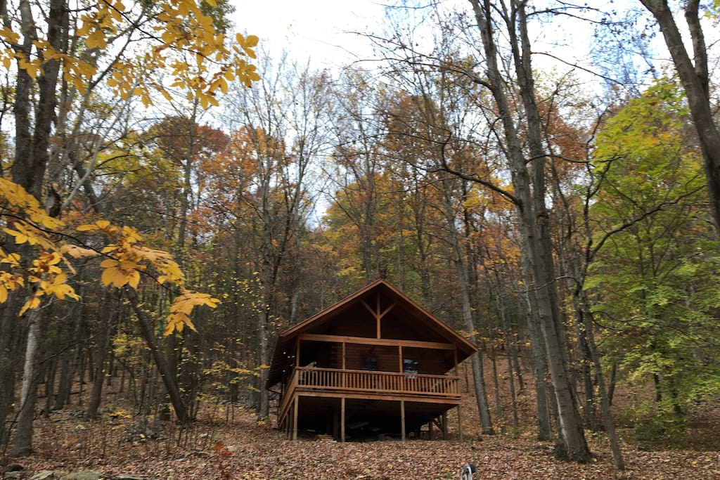 Little Lost Valley Cabin: Little Valley Log Cabin Retreat At Camp Liberty