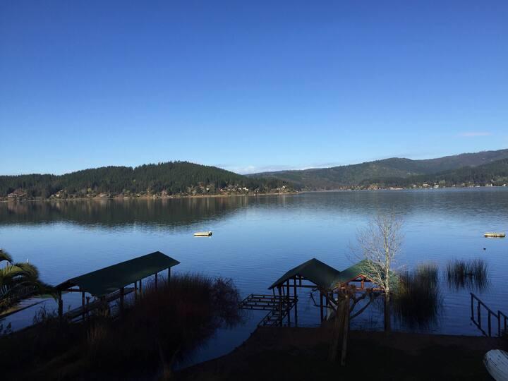 Mística casa en el Lago Vichuquen