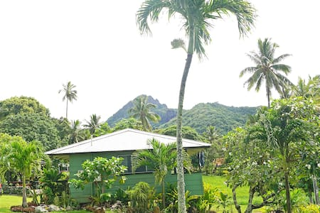 GETAWAY IN TROPICAL GARDENS-HOUSE 2 - Avarua District - House