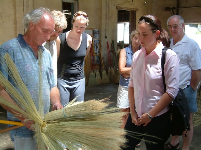 Visit the last remaining Broom Factory in NSW