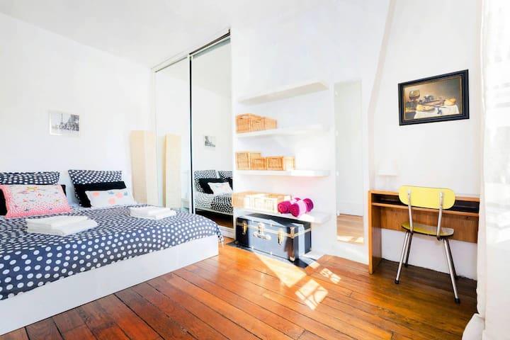 -25% Appartement 1 chambre ensoleillé à Montmartre