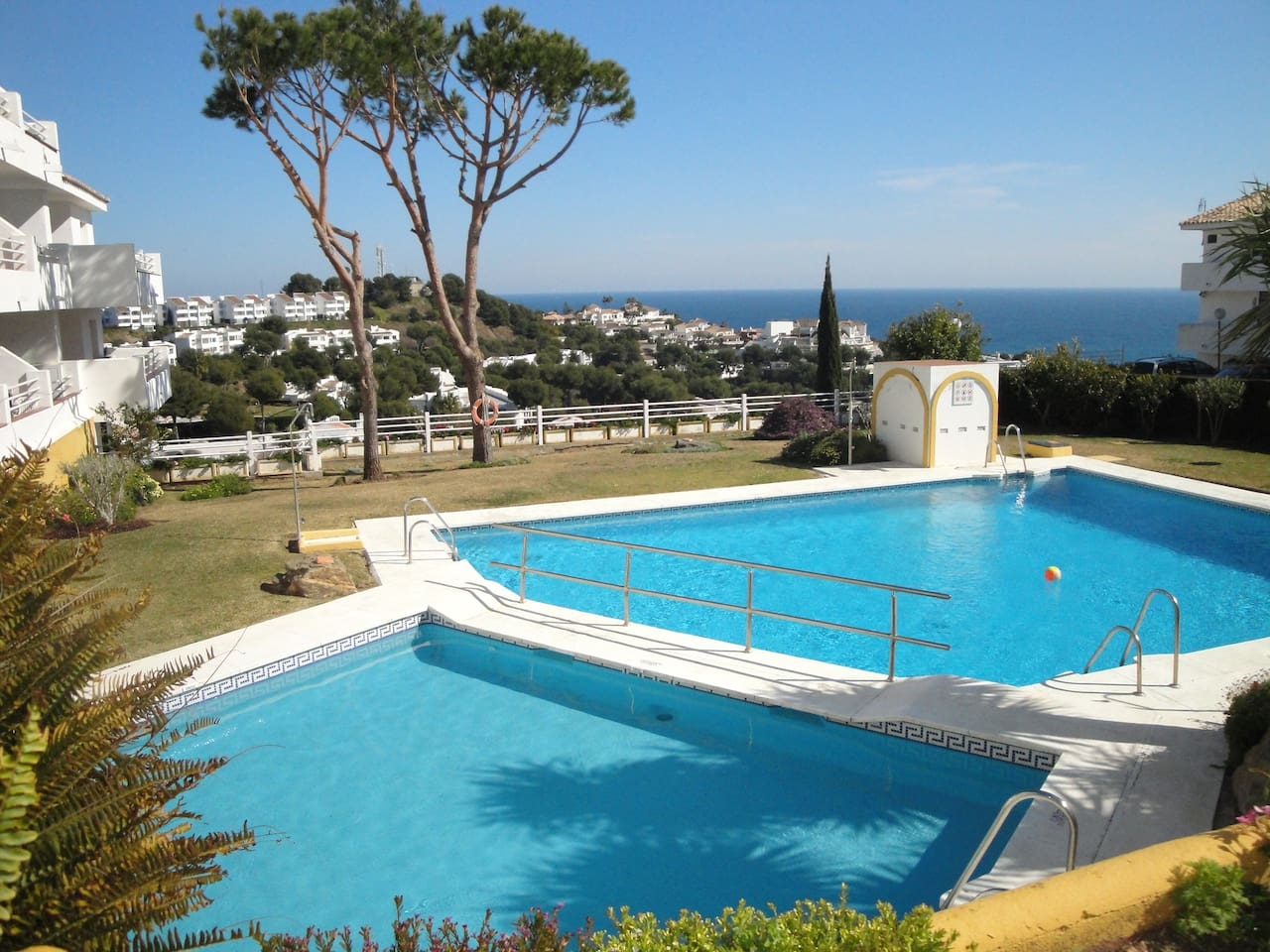 Large childrens pool and adult pool