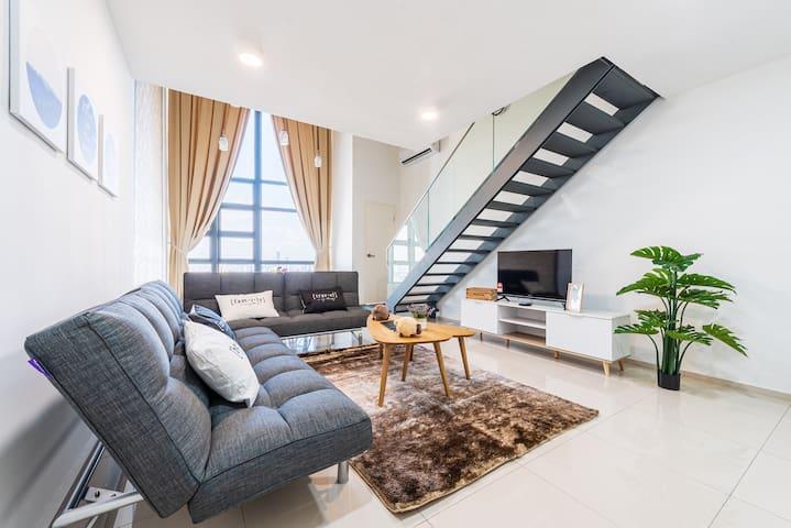 EC09#Ekocheras#HighFloor#KLView#Cozy Duplex#舒适高楼复式