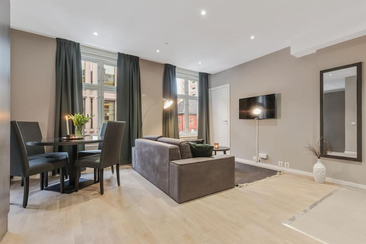 One bedroom apartment for two