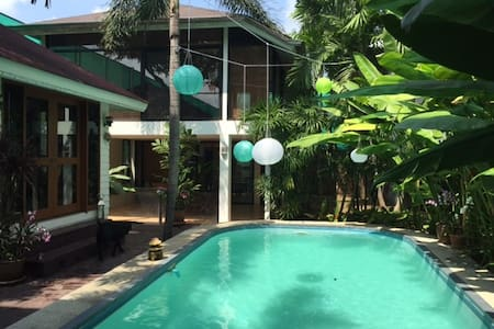 Large double room w/ ensuite  - Bangkok - Bed & Breakfast