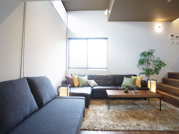 Cozy 100sqm 8min Shibuya sta w/ kid's playroom