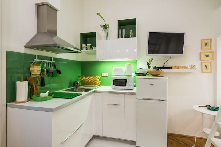 Green Pearl Apartment - Budapest - Flat