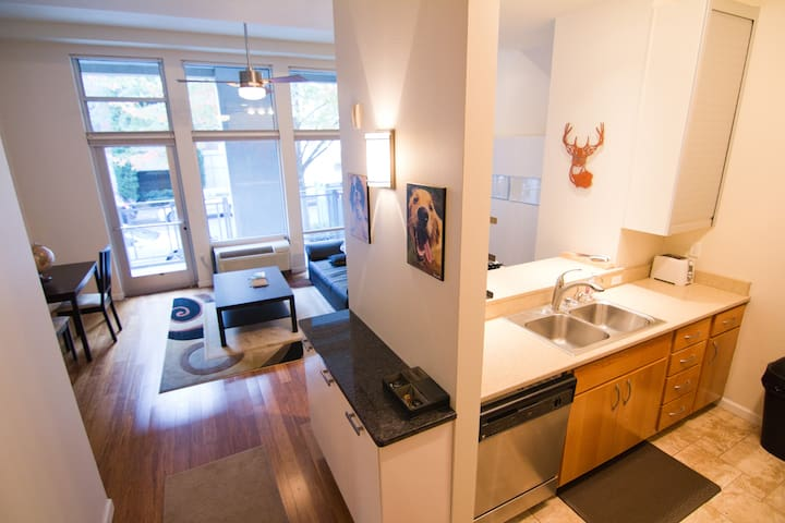 Spacious 1BR in the Heart of the Pearl - Portland - Apartament