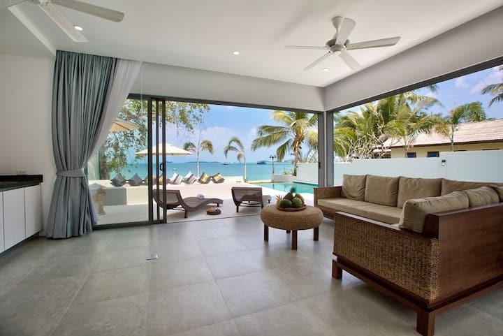 Absolutely stunning 7 bedroom beachfront residence