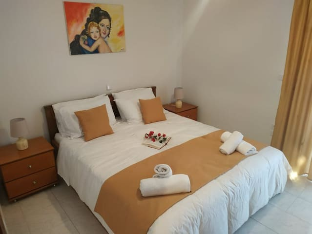 Double Bed Bedroom with spacious closets. Nice, clean and tidy ready to welcome your dreams.