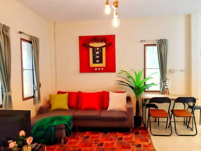 Bungalow near Chaweng Beach/24 hrs. Chk In
