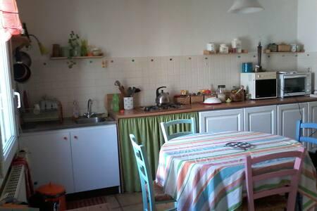 Petite maison chaleureuse. - Plourin-lès-Morlaix - Dom