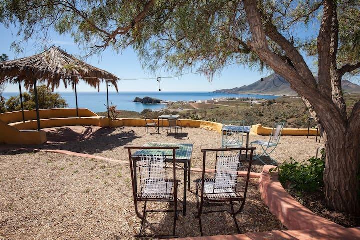 Vista espectacular- La Loma Hab.C - La Isleta del Moro - ที่พักพร้อมอาหารเช้า