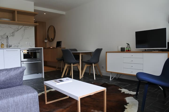 fully renovated 1 bedroom 5mn walk from the center and slopes Morzine