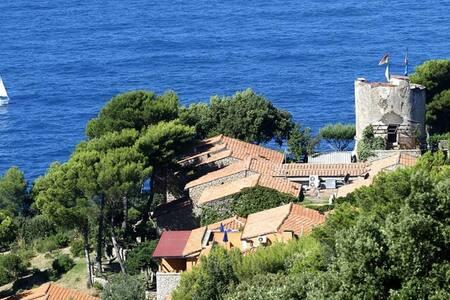 CALA PICCOLA casa con giardino - Monte Argentario - Haus