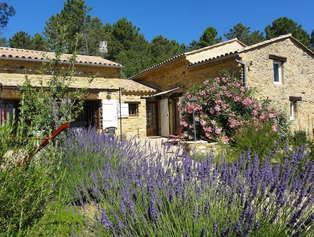 Mas Provençal à 2 pas des Gorges de l'Ardèche.... - Saint-Julien-de-Peyrolas - House
