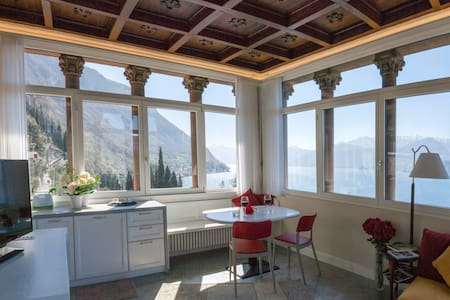 Hydrangea Lake View Apt. in Varenna - Varenna - Apartment