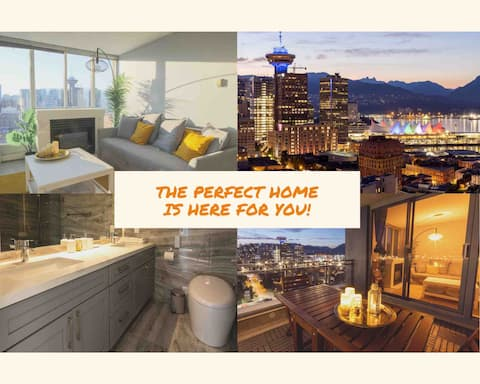 New! Upper Level Sea View Downtown + Free Parking