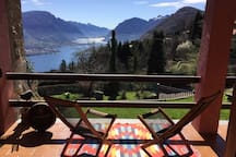 Beautiful view of Lake Como