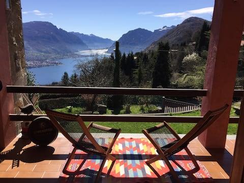 Beautiful view of Lake Como