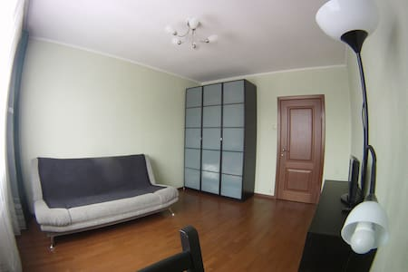 1 room apartment near a subway - Moskva - Apartment