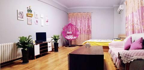 金域国际日租房时尚家庭房