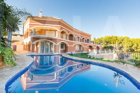 Magnificent 6 Bed, 3 Lounge, 4 Bath Private Pool - Busot - Hus