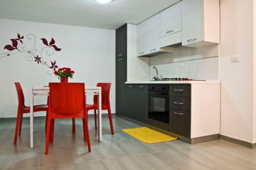 New casa vacanza del golfo giorgia loft in affitto a for Casa vacanza ad amsterdam