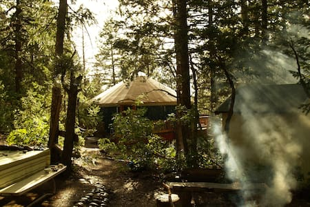 Yurt With View of Grand Staircase - Henrieville