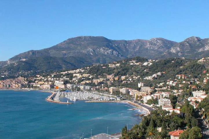 2 room flat in front of the sea - Menton - Appartement