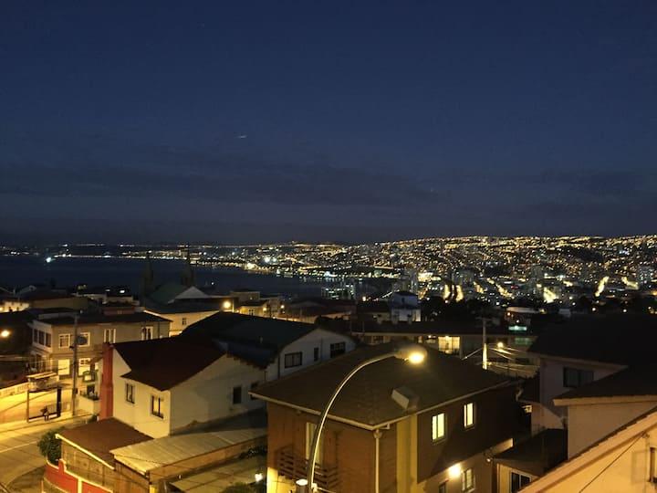 Loft cerro Alegre, ocean view