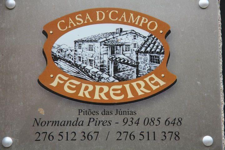 Casa Campo Ferreira - Pitões das Junias