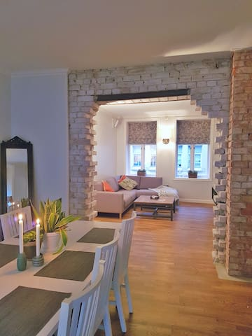 Charming & fully equipped apartment in city centre