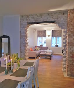 Charming & fully equipped apartment in city centre - Trondheim - Lejlighed