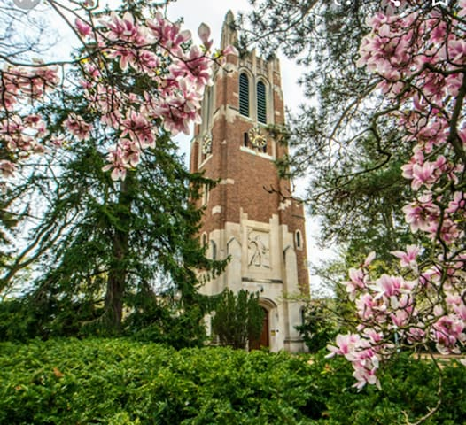 Beaumont Tower on MSU Campus